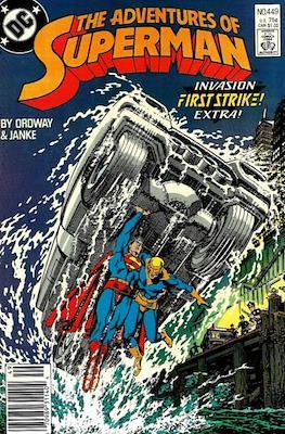Superman Vol. 1 / Adventures of Superman Vol. 1 (1939-2011) (Comic Book) #449