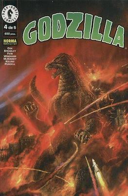Godzilla (Rústica) #4