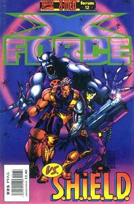 X-Force Vol. 2 (1996-2000) (Grapa 24 pp) #12