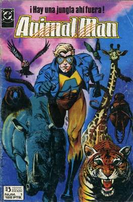 Animal Man (1989-1991) (Grapa 24 pp) #1