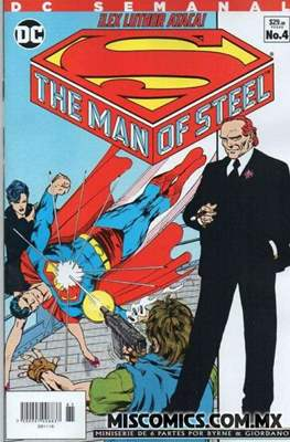Superman The Man of Steel - DC Semanal #4