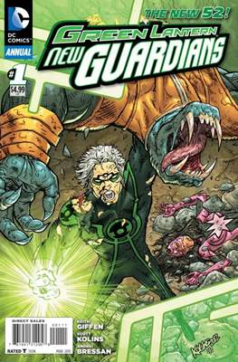 Green Lantern New Guardians Vol. 1 Annual (2013-2014) (Grapa) #1