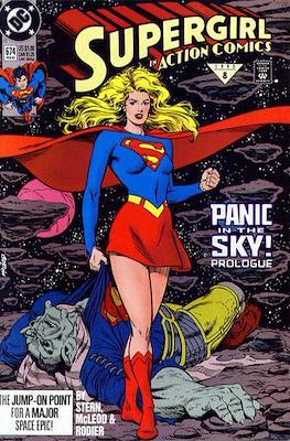 Action Comics Vol. 1 (1938-2011; 2016-) (Comic Book) #674