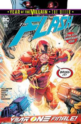 The Flash Vol. 5 (2016-2020) (Comic Book) #75
