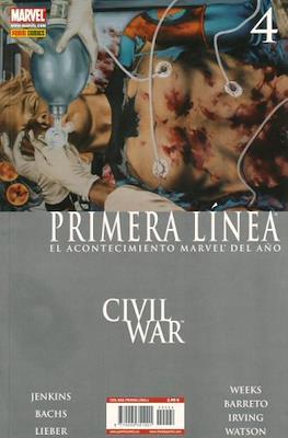 Civil War: Primera Línea (2007) (Rústica) #4