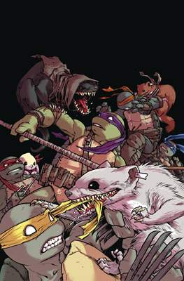 Teenage Mutant Ninja Turtles (2011-...) (Comic-book) #103