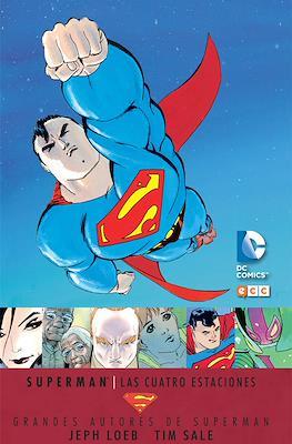 Grandes Autores de Superman: Jeph Loeb y Tim Sale - Superman: Las cuatro estaciones