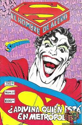 Superman Vol. 1 (Grapa. 1986-2001) #37
