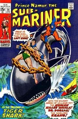 Sub-Mariner Vol. 1 (Grapa) #24