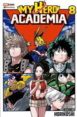 My Hero Academia (Rústica) #8
