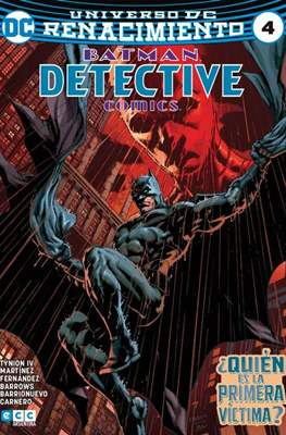 Batman: Detective Comics (Binder, páginas a color. 24x17cm.) #4