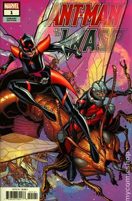 Ant-Man and The Wasp (Variant Covers) (Comic Book) #1