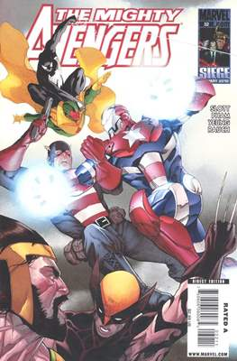 The Mighty Avengers Vol. 1 (2007-2010) (Comic-book) #32