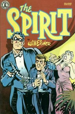 The Spirit (1983-1992) (Comic book. 32 pp) #5