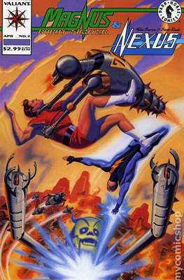 Magnus Robot Fighter & Nexus (comic grapa usa) #2