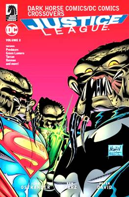 Dark Horse Comics / DC Comics Crossovers: Justice League (Softcover) #2