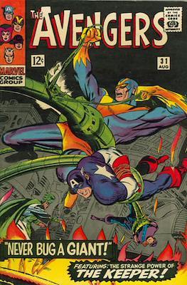 The Avengers Vol. 1 (1963-1996) (Grapa) #31