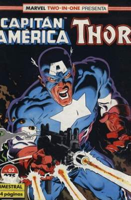 Capitán América Vol. 1 / Marvel Two-in-one: Capitán America & Thor Vol. 1 (1985-1992) (Grapa 32-64 pp) #62
