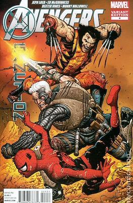Avengers: X-Sanction (Variant Covers) (Comic Book) #4.1