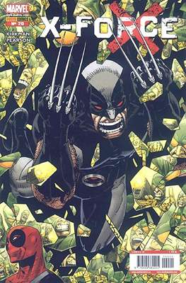 X-Force Vol. 3 (2008-2011) (Grapa, 24-48 pp) #20