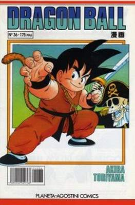 Dragon Ball (Grapa, blanco) #36