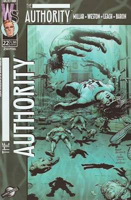 The Authority Vol. 1 (2000-2003) (Grapa 28 pp) #22