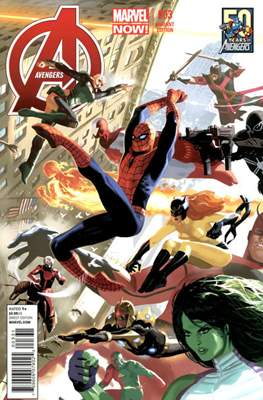 Avengers Vol. 5 (2013-2015 Variant Covers) (Comic Book) #3.2