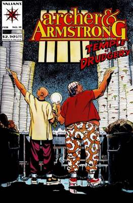 Archer & Armstrong (Comic-book) #19