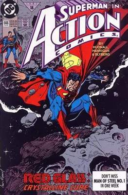 Action Comics Vol. 1 (1938-2011; 2016-) (Comic Book) #666