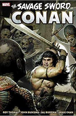 The Savage Sword of Conan: The Original Marvel Years Omnibus (Hardcover 776 pp) #3
