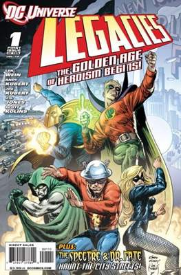 DC universe:  Legacies (Comic book) #1