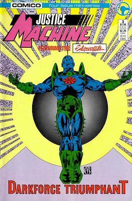 Justice Machine Featuring The Elementals (Comic Book) #3