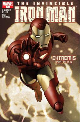 The Invincible Iron Man Extremis #4