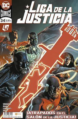Liga de la Justicia. Nuevo Universo DC / Renacimiento #112/34