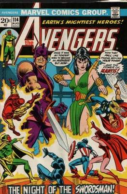 The Avengers Vol. 1 (1963-1996) (Comic Book) #114