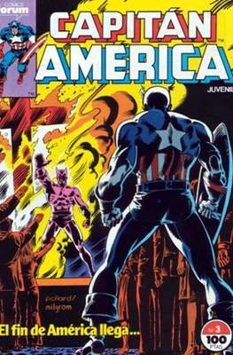 Capitán América Vol. 1 / Marvel Two-in-one: Capitán America & Thor Vol. 1 (1985-1992) (Grapa 32-64 pp) #3