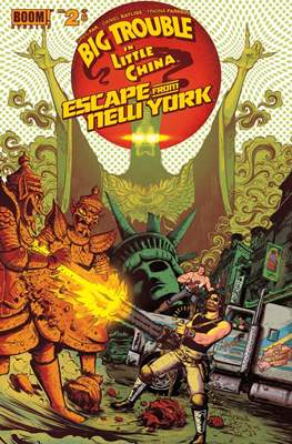 Big Trouble in Little China Escape from New York (Grapa) #2