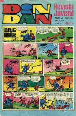 Din Dan 2ª época (1968-1975) (Grapa) #166