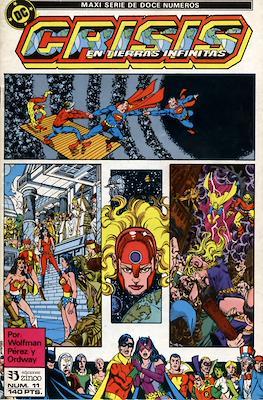 Crisis en Tierras Infinitas (1987) (Grapa. 32 páginas. Color.) #11