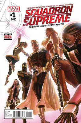 Squadron Supreme Vol. 4 (Comic-Book) #1
