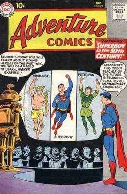 New Comics / New Adventure Comics / Adventure Comics (1935-1983 ; 2009-2011) (Comic Book) #279
