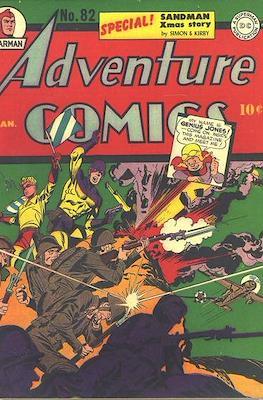 New Comics / New Adventure Comics / Adventure Comics (1935-1983; 2009-2011) (Saddle-Stitched) #82