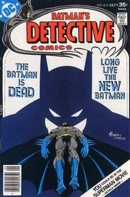 Detective Comics Vol. 1 (1937-2011; 2016-) (Comic Book) #472