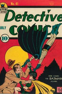 Detective Comics Vol. 1 (1937-2011; 2016-) (Comic Book) #41