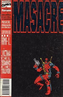 Masacre. Vol. 1 (Grapa. 17x26. 24 páginas. Color. 1994) #1