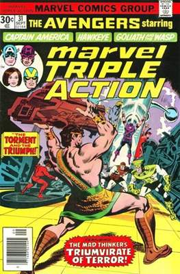 Marvel Triple Action Vol 1 (Comic-book.) #31