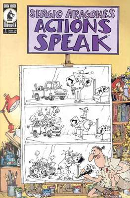 Sergio Aragonés Actions Speak (Miniserie) #1