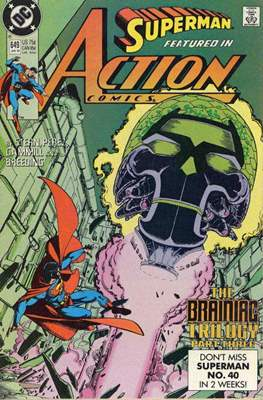 Action Comics Vol. 1 (1938-2011; 2016-) (Comic Book) #649