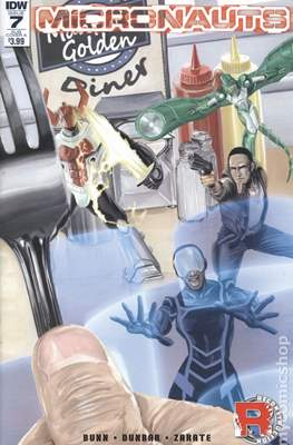 Micronauts (2016-2017 Variant Cover) (Comic Book) #7.1