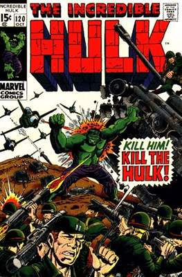 The Incredible Hulk Vol.1 (Saddle-stitched. 1962-1999) #120